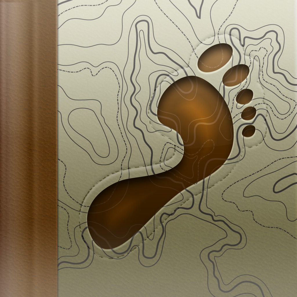 Trails - GPS tracker app icon