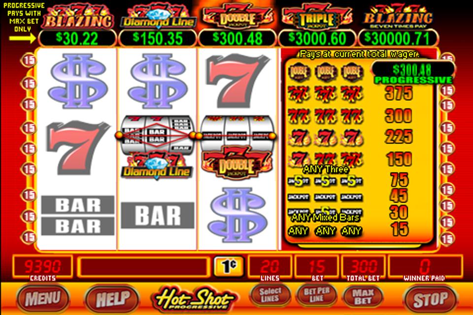 Hot shot progressive casino game borgato casino atlantic city